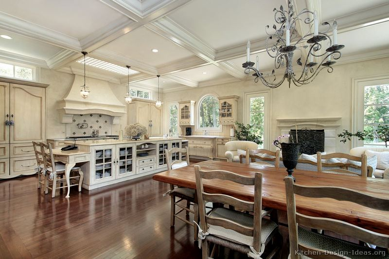 Pictures Of Kitchens Traditional Off White Antique Kitchen Cabinets Page 3