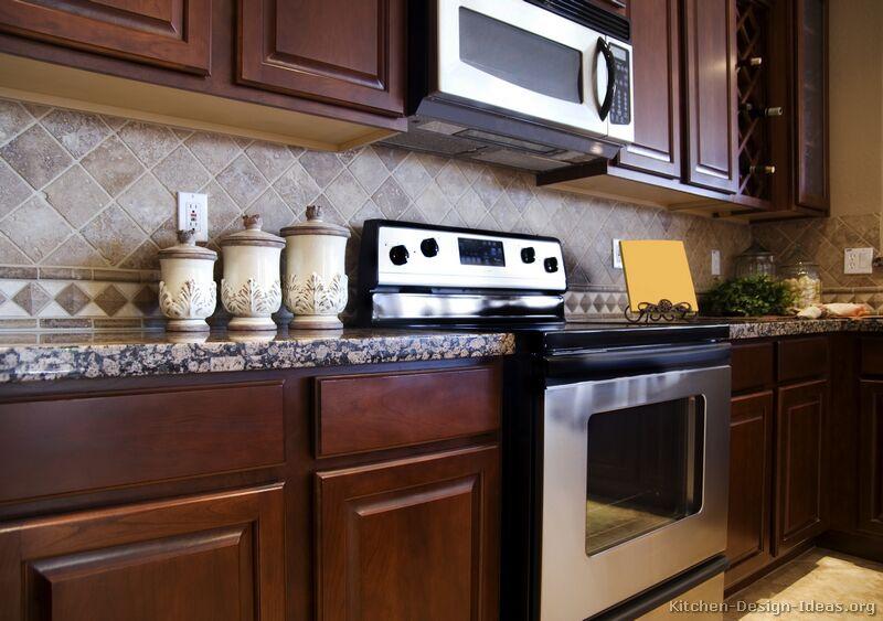 Cherry Wood Kitchen Cabinets Photos Kitchens Andrine