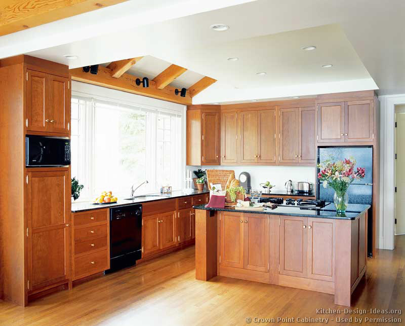 Floor To Ceiling Kitchen Cabinets #30: Shaker Kitchen Cabinets Door Styles Designs And Pictures