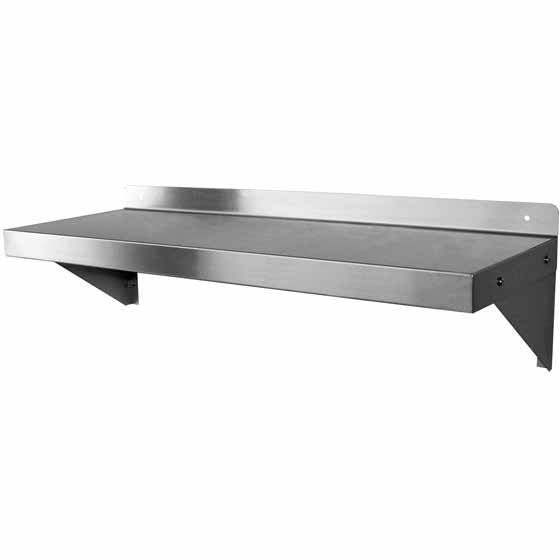 commercial wall shelving microwave