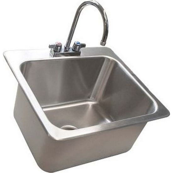 bk resources ddi 20161224 p g 23 x21 stainless steel deep drawn drop in sink