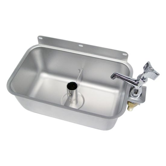 global idwb 610tr 10 ice cream dipper well and faucet set