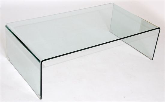 all glass modern coffee table ms18 ghost