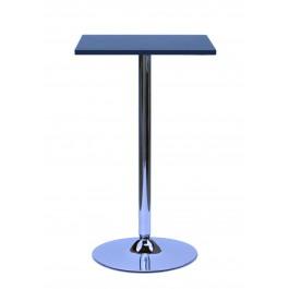 Como Poseur Black Square Wood Table