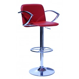 Bueno Kitchen Stool - Red