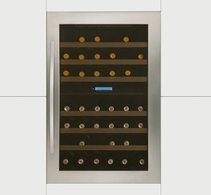 In-Column Dual Zone Wine Cabinet H 885mm