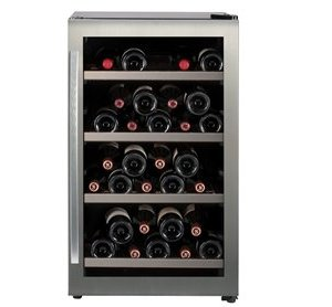 Freestanding Single Zone Wine Cabinet H 840mm