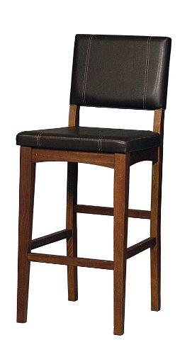 linon home decor milano bar stool 30inch - Linon Home Decor
