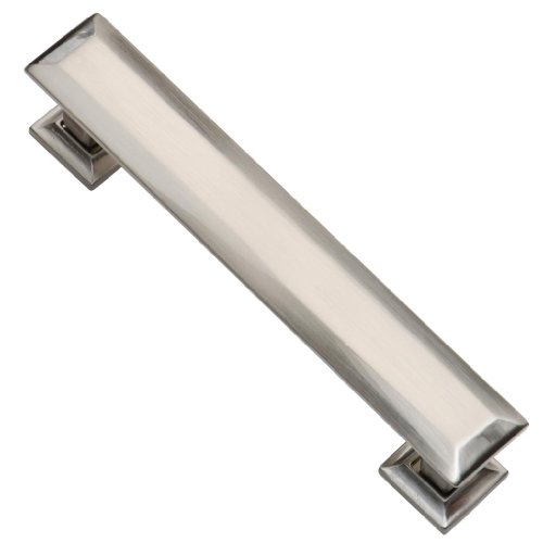 southern hills satin nickel cabinet pull 4 inch screw spacing brushed nickel handles