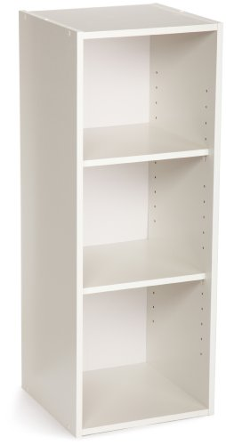 ClosetMaid 8987 Stackable 3 Shelf Organizer, White