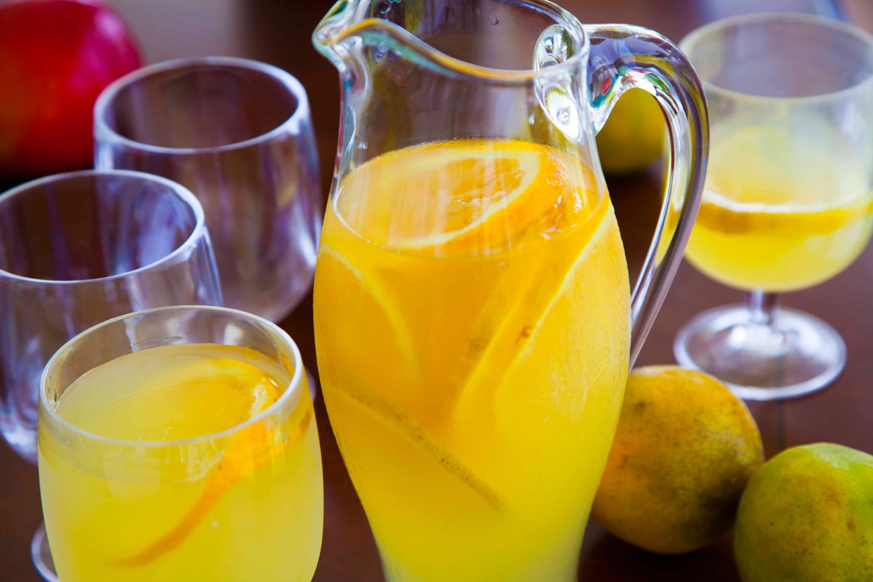 Jamaican orange and lemongrass juice J Kevin Foltz