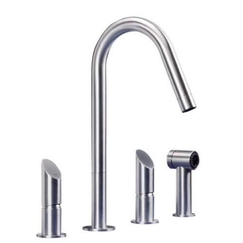 Three hole kitchen tap