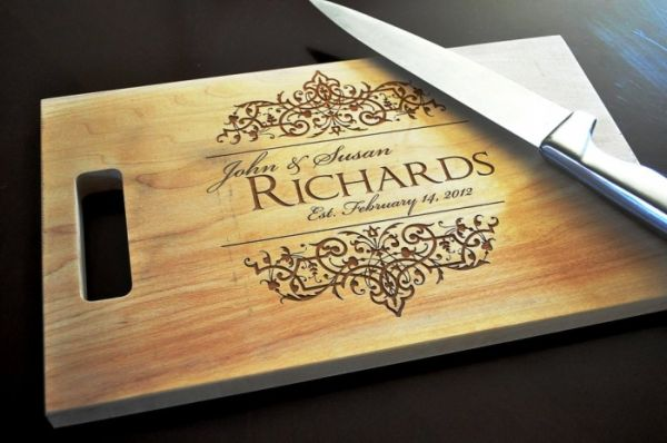 Personalized Chopping Board For Couples