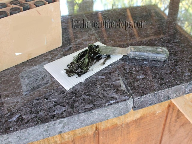 How To Glue Granite Chip Countertops For Kitchen