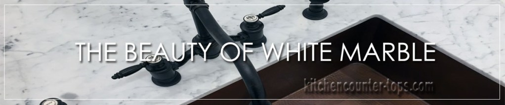 THE BEAUTY OF WHITE MARBLE