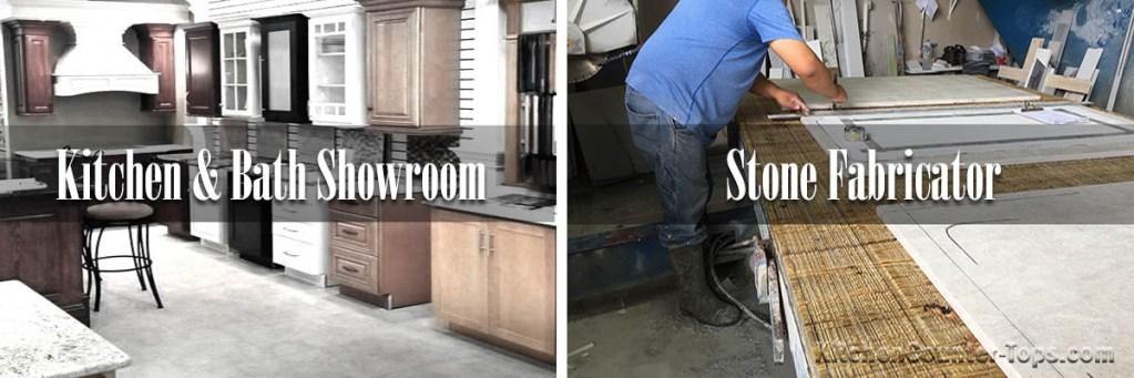 Natural Stone Fabrication vs Kitchen and Bath Showroom