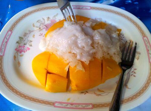 Sticky Rice mit Mango_k