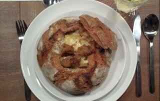 Wintergerichte Zwiebelsuppe