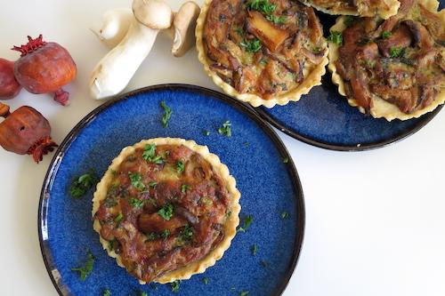 Steinpilz-Tartelettes