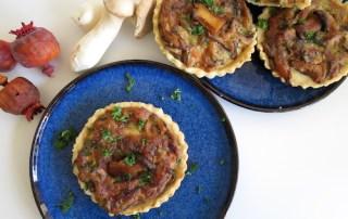 Wintergerichte Steinpilz-Tartelettes