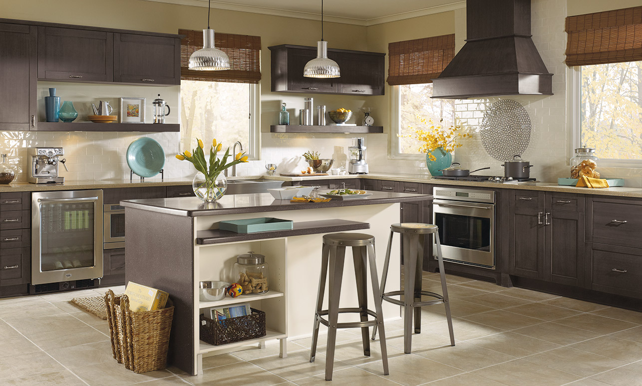 modern european-style kitchen cabinets – kitchen craft