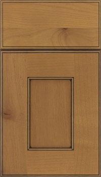 Ginger Black Glaze Cabinet Finish On Alder Kitchen Craft