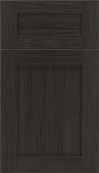 Weathered Slate Cabinet Finish On Rift Oak Kitchen Craft