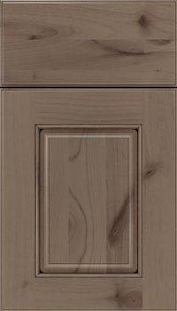 Winter Black Glaze Cabinet Finish On Alder Kitchen Craft