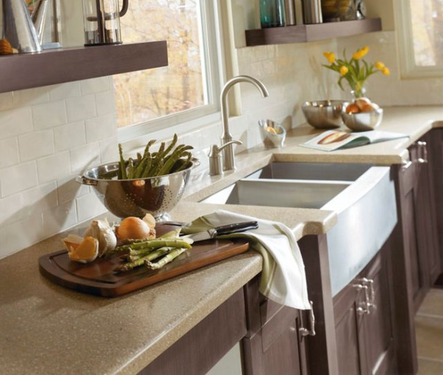 Shaker Style Cabinets In Casual Kitchen By Kitchen Craft Cabinetry