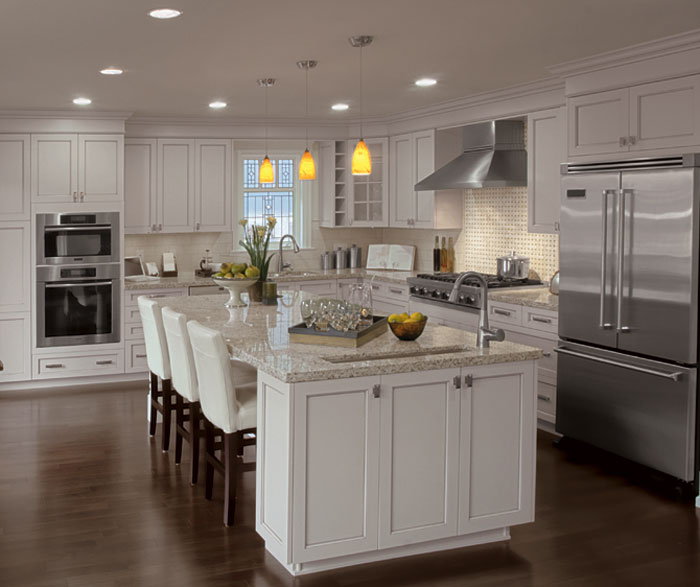 Painted Kitchen Cabinets Alabaster Craft Cabinetry