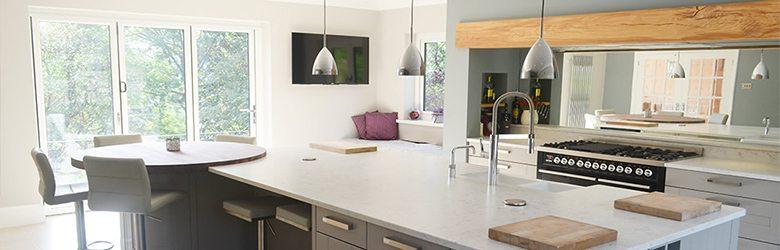 natural coloured kitchen
