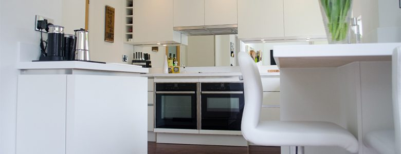 minimalist designer kitchen