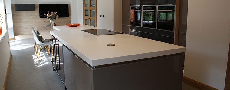 A kitchen island design