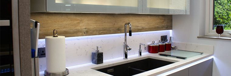 Custom granite sink