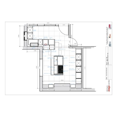Size Matters - Kitchen Plan