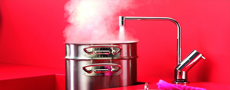 Quooker taps are great for cooking