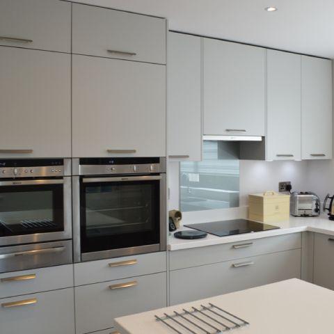 flexible german kitchen design finished kitchen