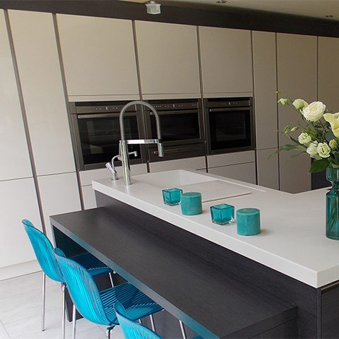 timeless design meets practical family living in urmston finished kitchen