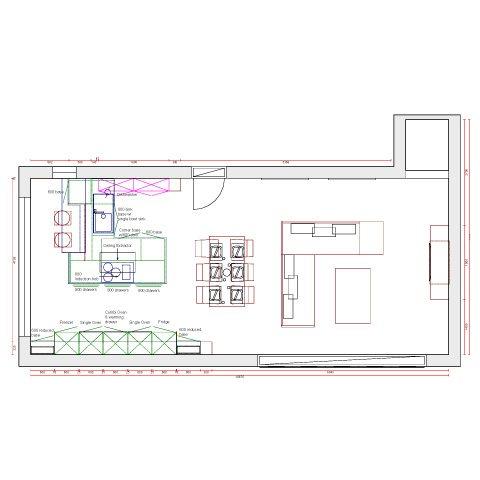 A State Of The Art Designer Kitchen Plan