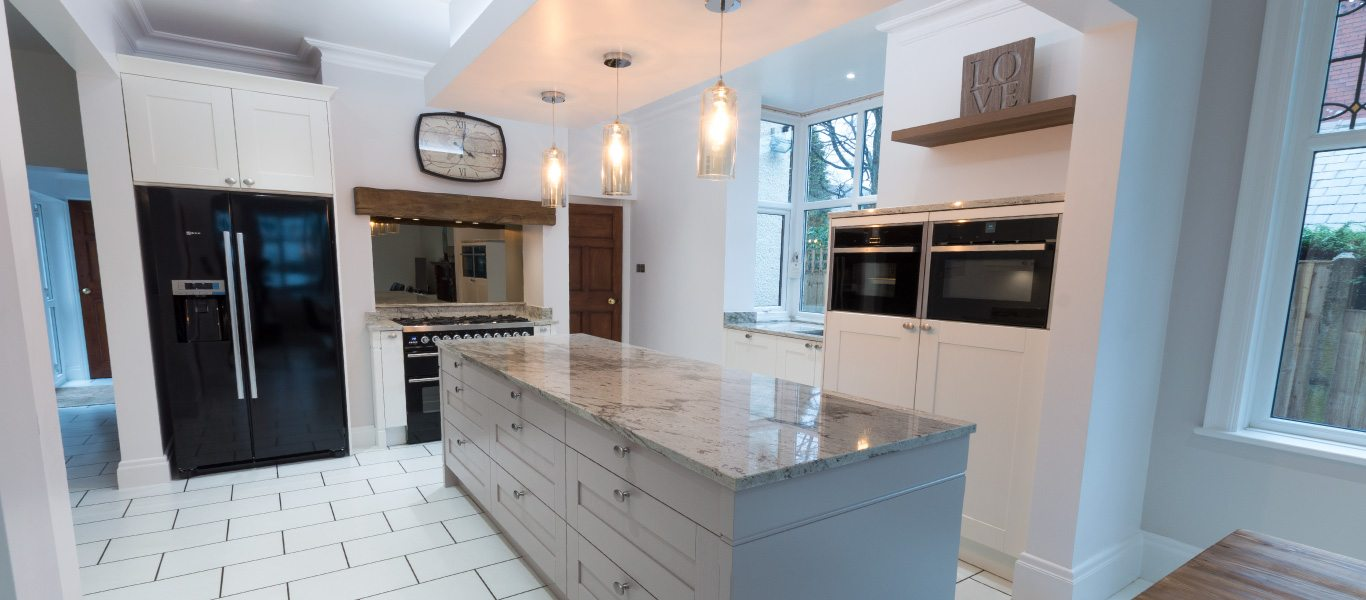 Traditional Shaker Style Kitchen With A Modern Twist