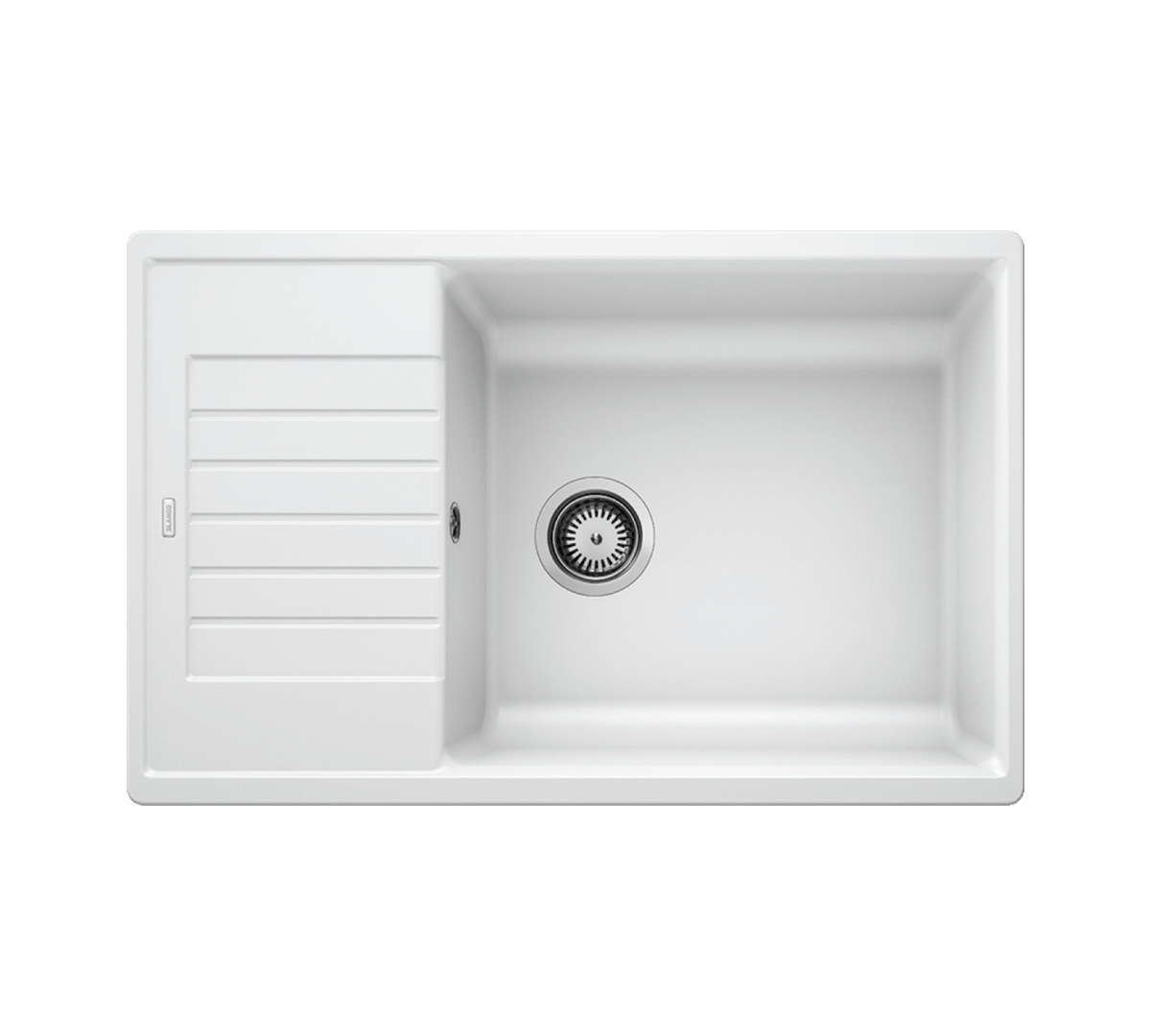 Ala Zia XL 6 S Inset Compact Sink & Tap Pack Rock Grey