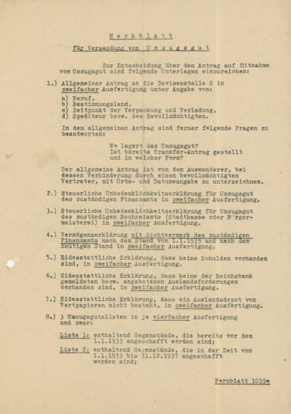 Instruction sheet / Merkblatt