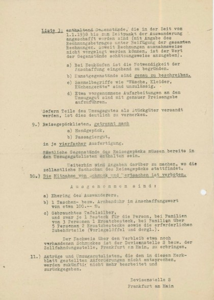 Instruction sheet / Merkblatt - page two