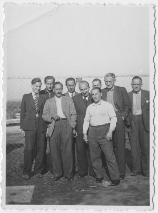 Some of the refugees at Kitchener Camp - also know as Richborough transit camp