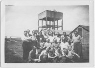 Richborough transit camp: photograph by water tower