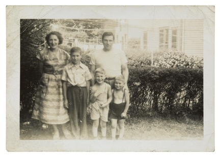 Brill family in the USA, around 1952