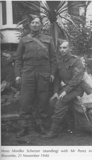 Pioneer Corps, Moses Mordko Scherzer, 1940