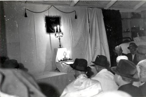 Kitchener camp, service, Leo Rosengarten