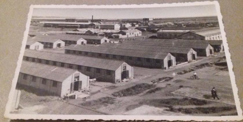 Kitchener camp, unused postcard