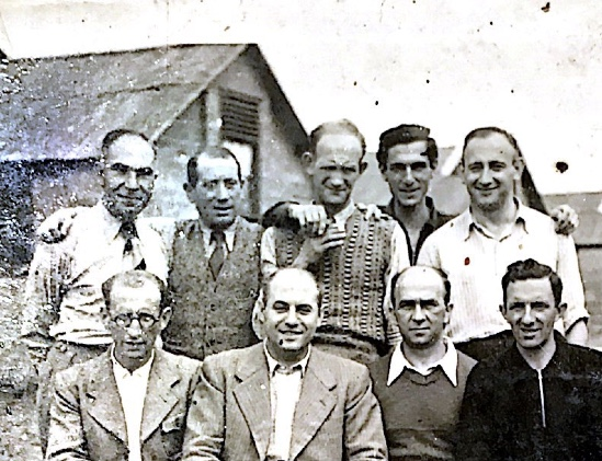 Kitchener camp, Richard Cohn - a detail from Hans Friedmann –photograph